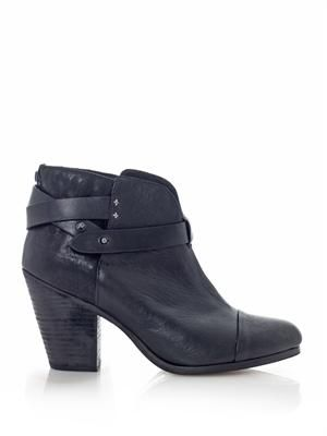 Harrow leather ankle boots