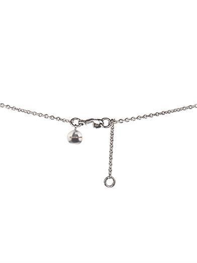 Shaun Leane Diamond & white-gold Sabre necklace