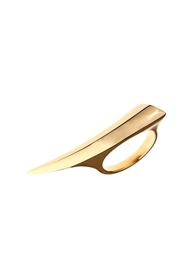 Shaun Leane Yellow-gold Sabre ring