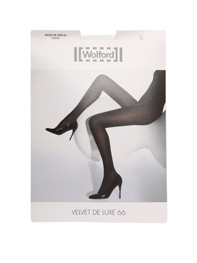 Wolford Black velvet deluxe tights