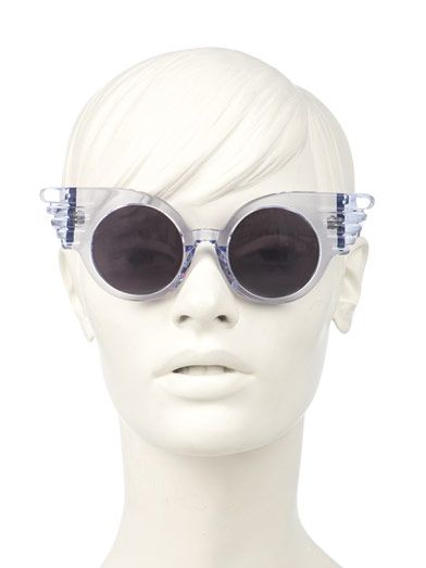 Linda Farrow For Jeremy Scott Wing sunglasses