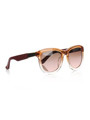 Gradient orange sunglasses