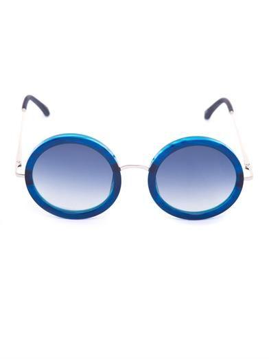 The Row Oversized round-frame sunglasses
