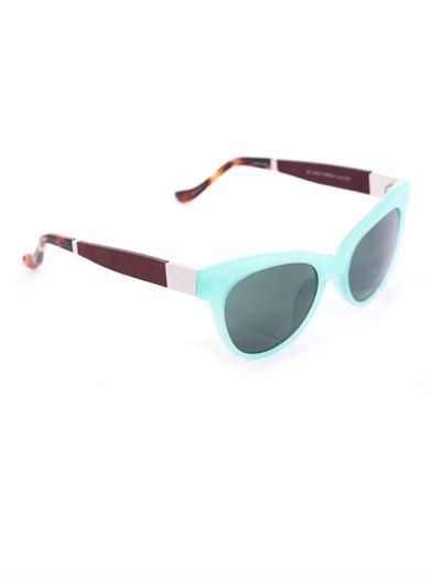 The Row Poolside cat-eye sunglasses