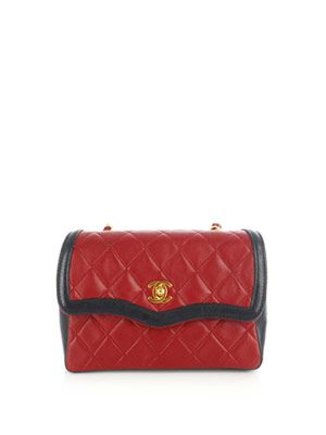 Contrast quilted bag
