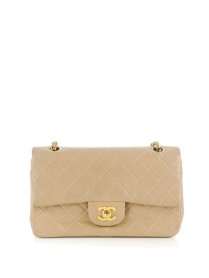 Classic quilted chain-handle bag