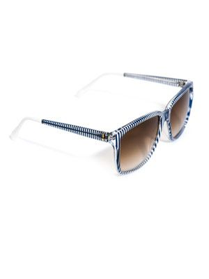 Stripe sunglasses