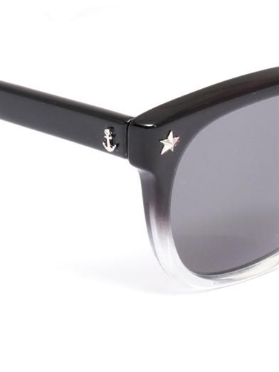 Sheriff&Cherry G11 ombré frame sunglasses