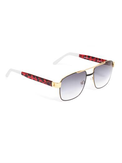 Sheriff&Cherry G1 jungle square sunglasses