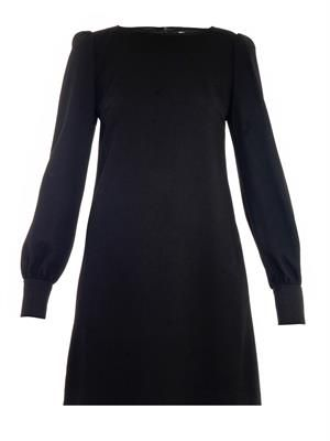 Tallulah wool-crepe dress