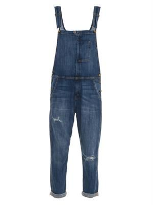 The Ranch Hand denim overalls