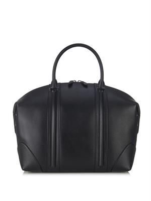 LC leather weekend bag