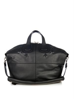 Nightingale leather weekend bag