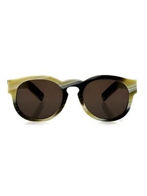 LARKE Gill round-framed sunglasses