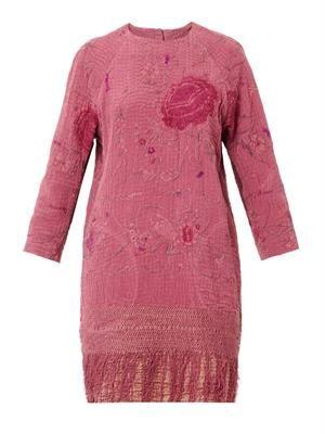 Lotus vintage crochet piano shawl dress