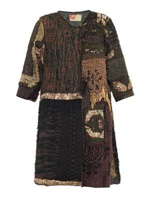 Vintage ecclesiastical swing coat