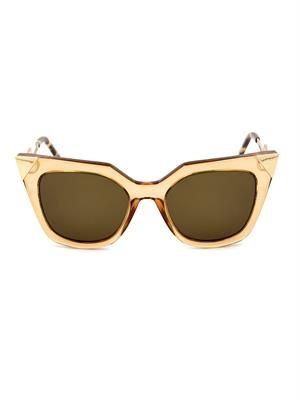 Iridia cat-eye sunglasses