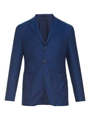 Tuscany cotton-blend blazer