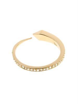 Diamond & yellow-gold Comet ring