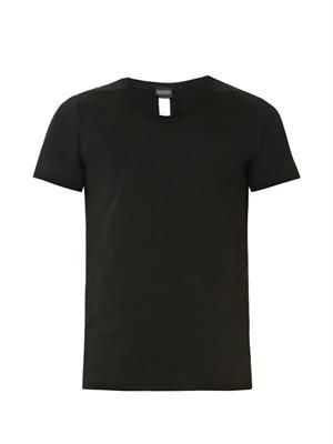 Crew-neck cotton-jersey T-shirt