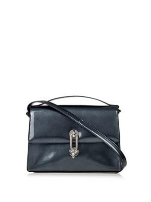 Maillon Trapeze leather cross-body bag