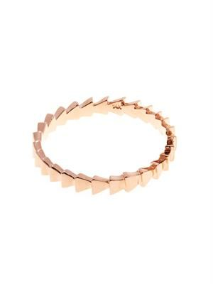 Rose-gold Trace ring