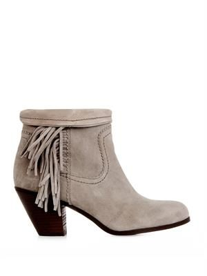 Louie suede ankle boots