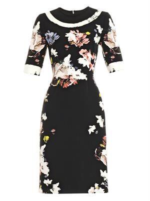 Ivy floral-print dress