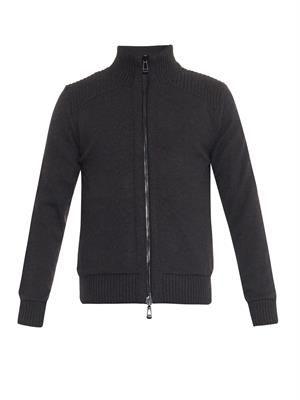 Maltby reversible bomber jacket