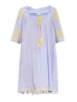 Eva embroidered cotton dress