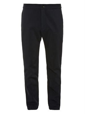 PATRIK ERVELL Heavy-weight twill track pants