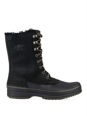 Kitchener Frost™ nubuck and rubber boots