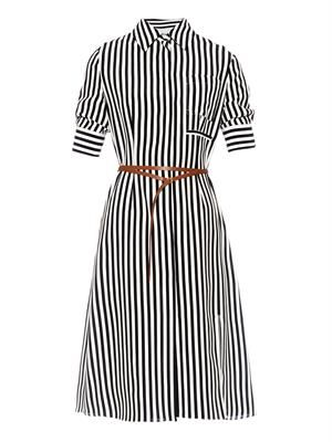 Kieran striped shirt dress