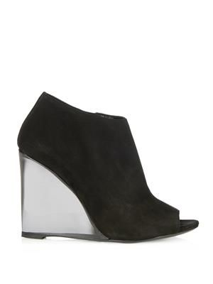 Keston suede wedge boot