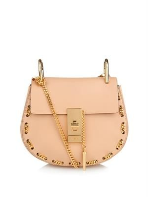 Drew mini threaded-chain shoulder bag