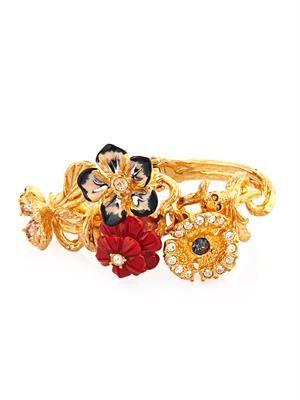 Cherry Blossom Swarovski-crystal bracelet