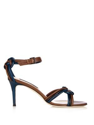 Aziliz plaited leather sandals
