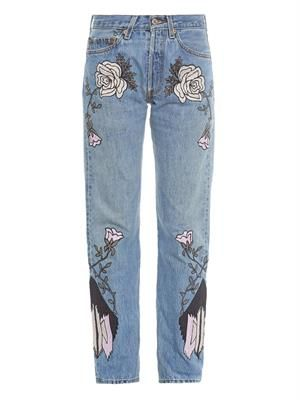 Shadows of Mountains boyfriend jeans