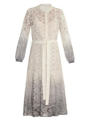 Dégradé lace dress
