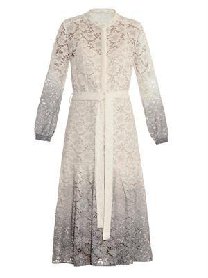 Dégradé lace dress