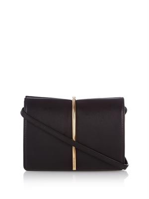 Arc leather cross-body bag