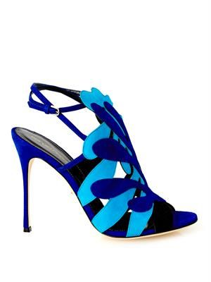 Matisse cut-out suede sandals