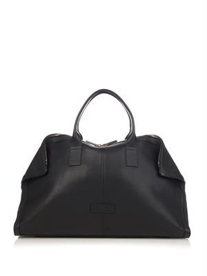 De Manta leather weekend bag