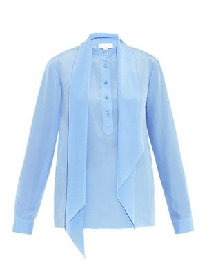 Blaine silk shirt