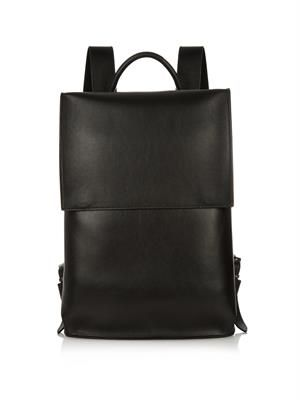 Phileas leather backpack