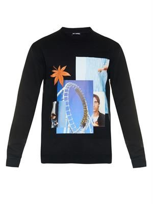 Photo-montage sweatshirt