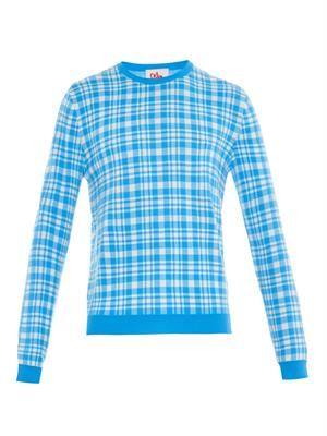 Chaz plaid sweater