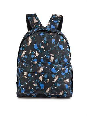 Olov terrazzo-print backpack