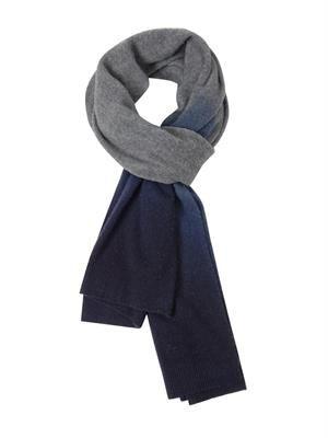 Chet dip-dye wool scarf
