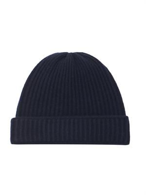 Miles ribbed-knit wool beanie